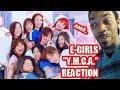 "E-Girls (REACTION) ""Y.M.C.A."" (FIRST TIME HEARING THE FULL LINE-UP)"