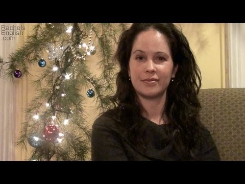 How To Pronounce Christmas In American English -- Happy Holidays!