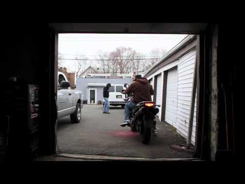 Motorcycle Stunts on Suzuki DL1000 V-Strom Crazy Stunting.flv