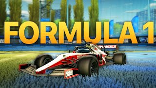 Freestyling With The New Formula 1 In Rocket League...