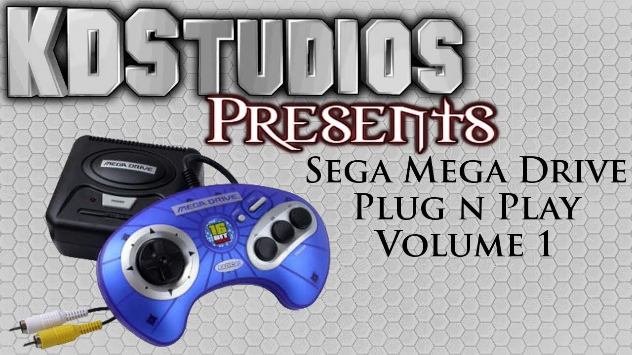 Sega Genesis Classic Game Console Plug & Play Video Game ...