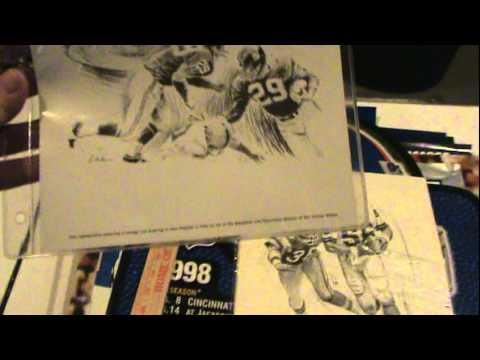 Video 2 of 4 for Box # 149 - NYGiantsMuseum.com --  Wall Art ready to be framed