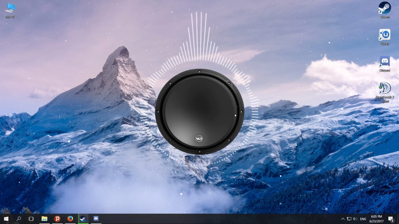 Wallpaper engine Audio visualizer showcase #2 Updated - YouTube