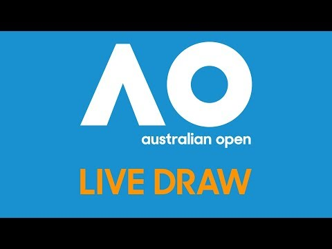 Federer Wozniacki Join Us For The Ao19 Live Draw Presented By