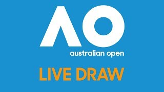 Federer & Wozniacki join us for the AO19 Live Draw presented by Infosys | Australian Open 2019
