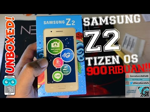 Samsung Z2 - Unboxing & Hands-on (Indonesia) - Tizen OS