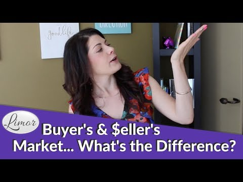 Buyer's Market or Seller's Market? Whats the Difference? | Financially Fabulous with Limor