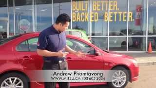 2015 Mitsubishi Lancer SE All Wheel Drive | Limited Edition Package - Virtual Test Drive