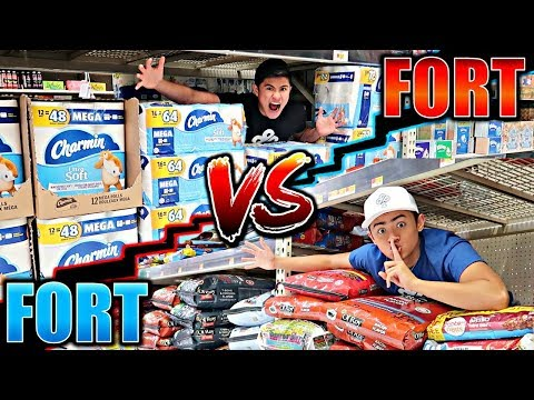 FORT WARS!! (WALMART EDITION)