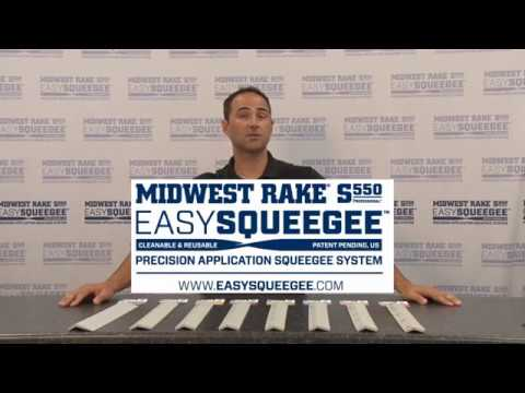 Easy Squeegee Blade Selection