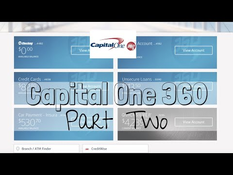 WATCH ME TRANSFER MONEY - Capital One 360 PART TWO!    Using Capital One 360 With Cash Envelopes