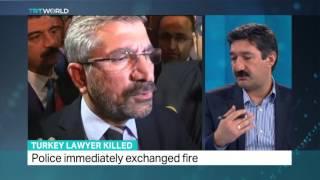 TRT World - Interview with Abdurrahman Kurt about top lawyer's killing in Turkey