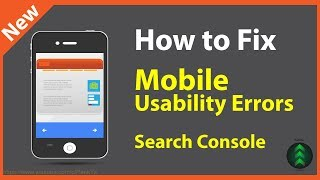How to Fix Mobile Usability Errors