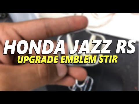 Honda Jazz RS 2010 (GE8) UPGRADE Stir Dgn Tombol Audio + Ganti Emblem Stir Honda (LIVE/LANGSUNG)