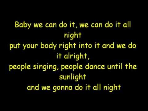 Darius & Finlay - Do it all Night [Lyrics]