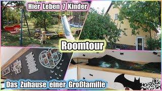 Roomtour 🏡 / Haustour /  So Leben Wir  Mit 7 Kindern🙏🥰 / Unser Zuhause