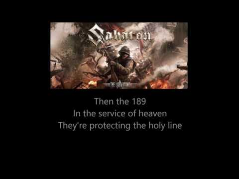 Sabaton - The Last Stand (Lyrics)