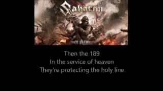 Sabaton - The Last Stand (Lyrics)