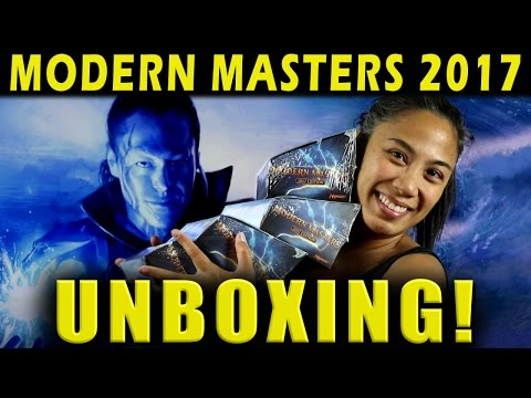 Modern Masters 2017 Unboxing! How many fetchlands will we find in 3 boxes? Magic the Gathering