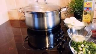 Cuisine congolais ya Nadine Bola madesu na ngulu fumes part 2
