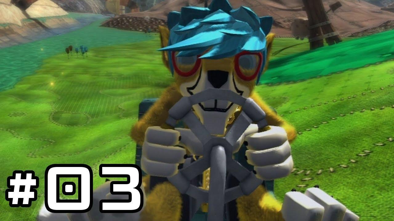 Banjo-Kazooie: Nuts & Bolts Walkthrough - Part 3: Nutty Acres Act 2