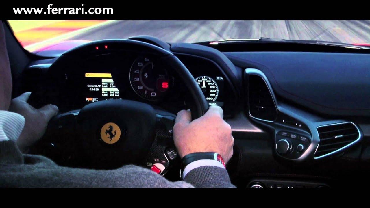 Car Cockpit Wallpaper Ferrari 458 Italia Racing Cockpit Youtube