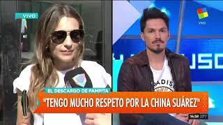 """Pampita: """"Nos manejamos con mucho respeto con 'La China' Suárez"""""""
