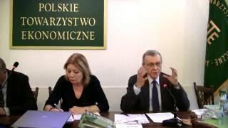 """Czwartek u Ekonomistów pt. """"Nowy pragmatyzm, czyli ekonomia dla przyszłości"""""""