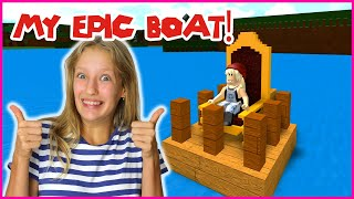 BUILDING THE MOST EPIC BOATS TO TREASURE!!!