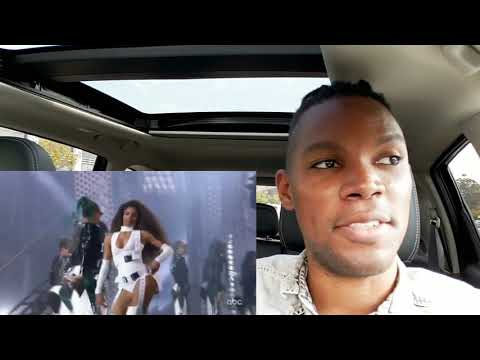 2018 AMAs Ciara Missy Elliott Level Up (REMIX) | REACTION