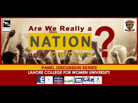 Are we Really a Nation or a Crowd (Debate Mass Comm LCWU )