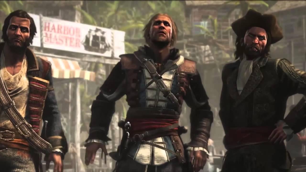 Assassin's creed 4 Pirates Trailer AC4 Pirate Heist Trailer