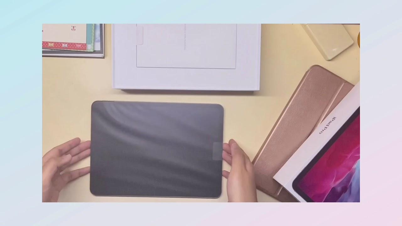 Unboxing iPad Pro 2020 Malaysia (⁎⁍̴̛ᴗ⁍̴̛⁎) - YouTube