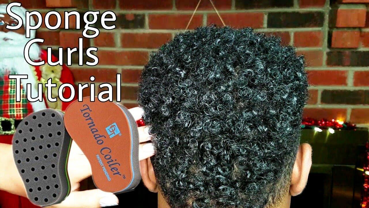 Sponge Curls Tutorial Men Amp Women How To Style Short