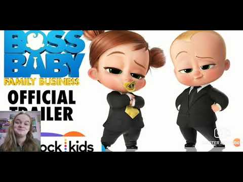 REACTION: The Boss Baby 2: Family Business Official Trailer 2021