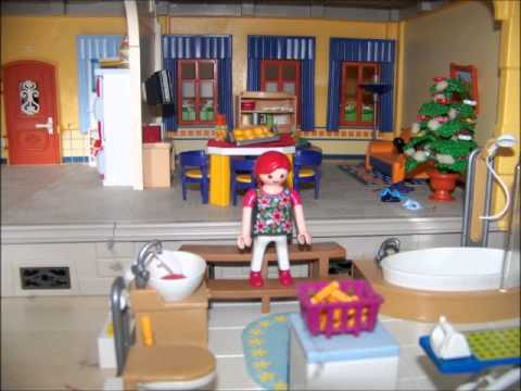 Stop motion une journ e dans la maison traditionnelle for Photos maison playmobil