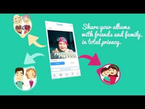 Baby Cloud: share your baby's moments in privacy
