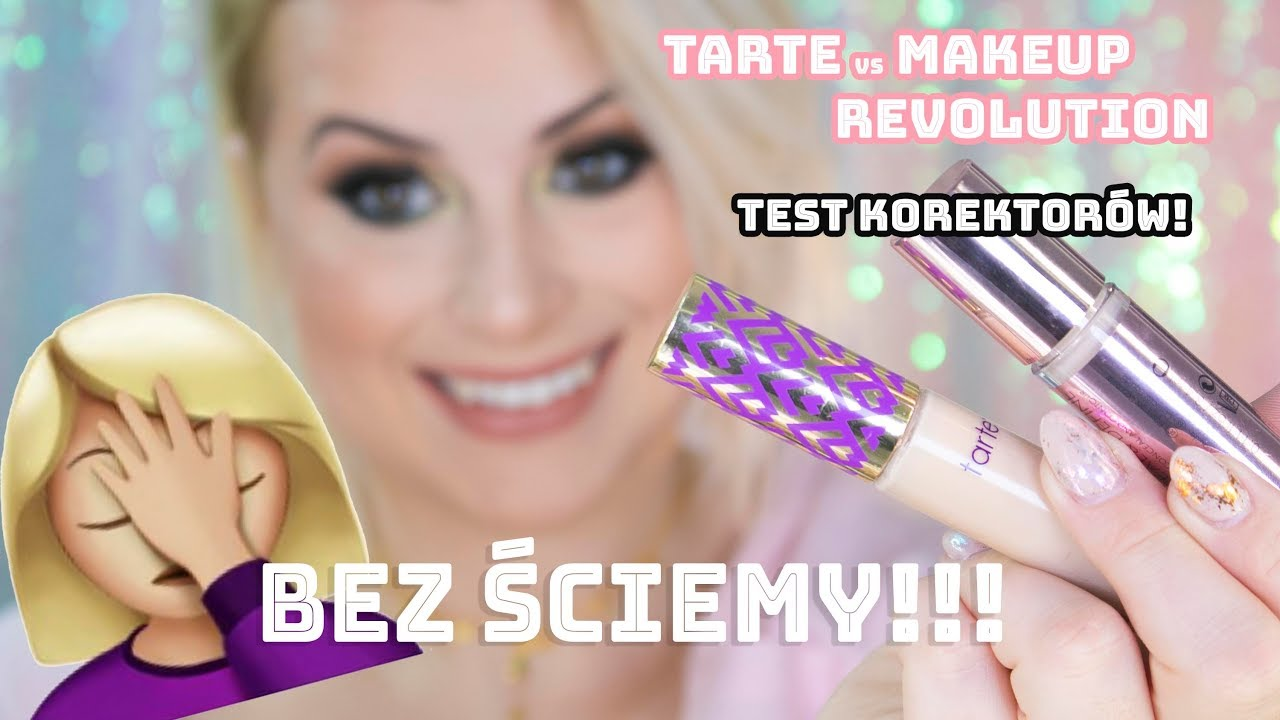 BEZ ŚCIEMY!!! | TESTUJE NOWY KOREKTOR MAKEUP REVOLUTION VS SHAPE TAPE | HIT CZY KIT??