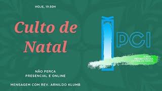 IP Central de Itapeva -  CULTO DE NATAL 24/12/2020