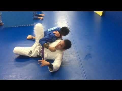 Straight armlock vs hip scoot Koji Shibamoto