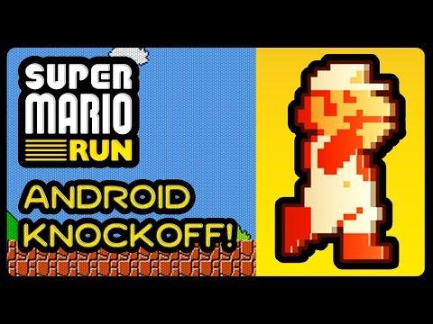SUPER MARIO RUN - Android Knockoff! (1080p/60fps)