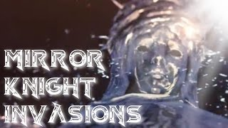Dark Souls 2 PvP - Invading a Boss?! (Mirror Knight Invasions)