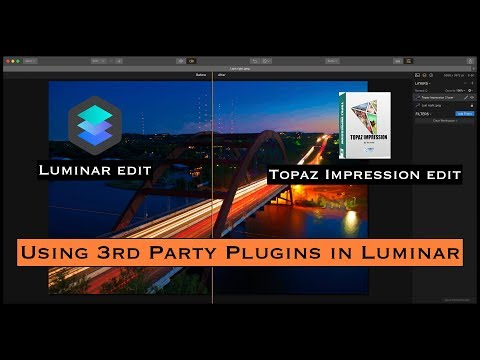 Using 3rd Party Plugins in Luminar