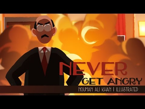 Never Get Angry | Nouman Ali Khan | illustrated | Subtitled