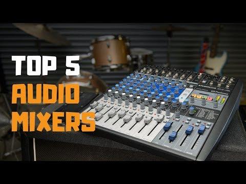 Best Audio Mixers In 2019 - Top 5 Audio Mixers Review