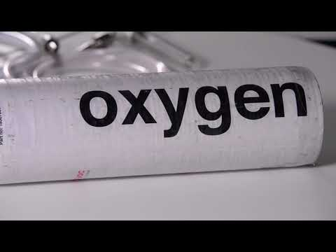 Integral Valve Oxygen Cylinder Operation