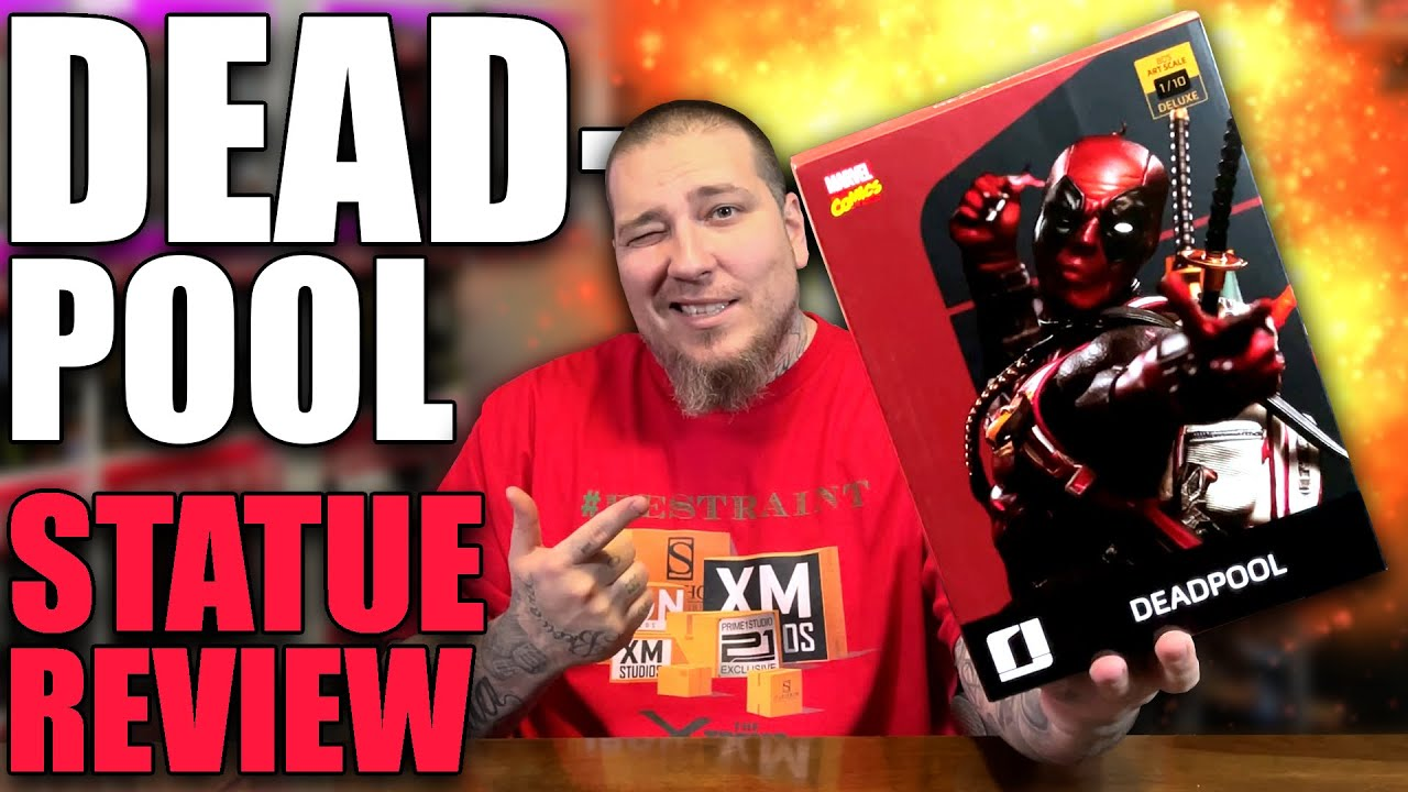 Download DEADPOOL 1/10 Scale Statue Unboxing & Review | Iron Studios