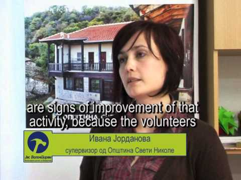 Local volunteer service Macedonia