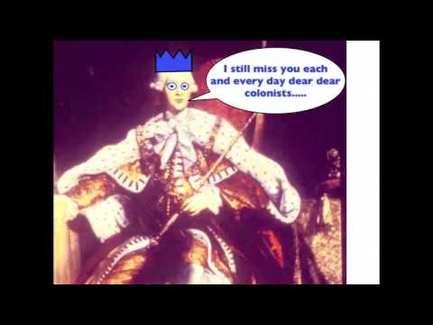 Image result for King George american revolution funny