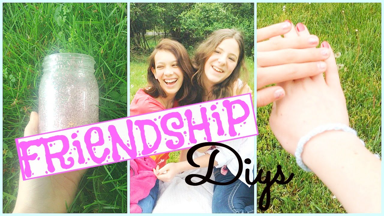 2 Diys You Can Do With Your Best Friend